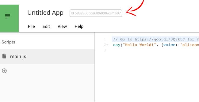 App Identifier